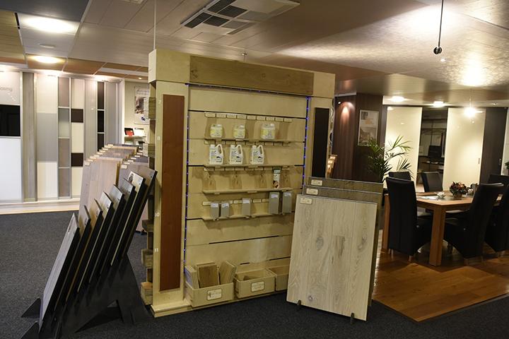 Showroom - Overzicht Beter Hout (lamelparket vloeren)