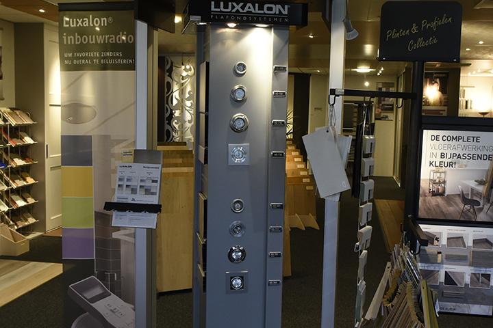 Spots - Luxalon inbouwspots (verschillende types)