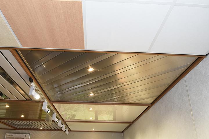 Badkamer Plafond Oplossingen : Een aluminium plafond is de meest efficiënte oplossing voor uw