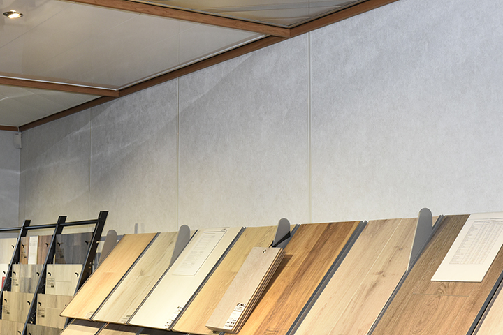 Gipsvinyl wanden - Durafort gips voorzetwand met inlegbiezen