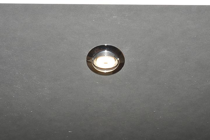 Spots - Inbouwspot halogeen, kantelbaar met aluminium rand