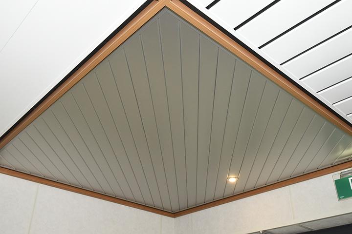 Plafonds - Gesloten aluminium Luxalon plafond