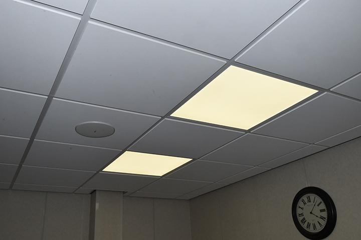 Verlichting - LED panelen met witte rand